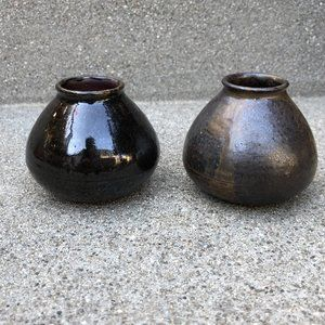 "Other - 2 Small decorative ceramic vases 2 .25"" H"